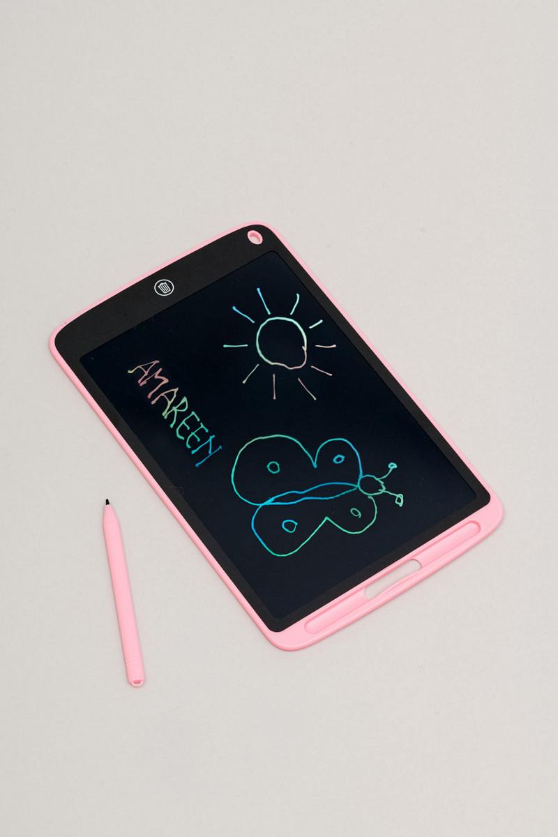 LCD ploča za crtanje (crno i ružičasta)